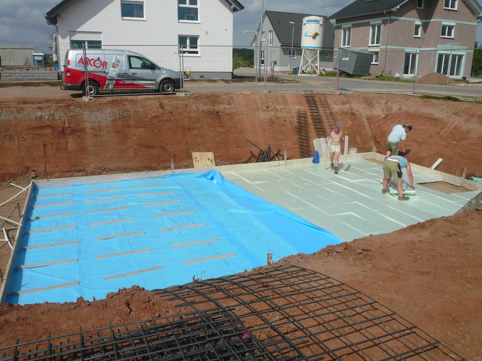 Bodenplatte – Dämmung « Bautagebuch